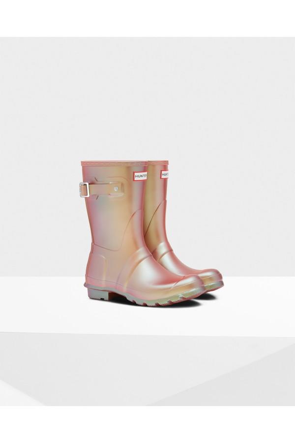 Women s Original Nebula Short Rain Boots by Hunter at ORCHARD MILE 82131235a836