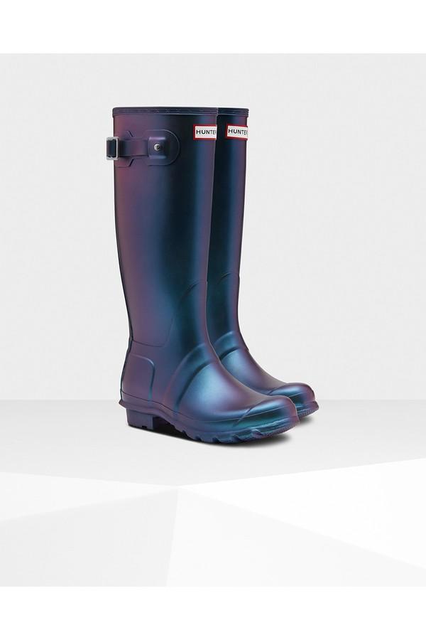 516b46d06 Women's Original Nebula Tall Rain Boots by Hunter at ORCHARD MILE