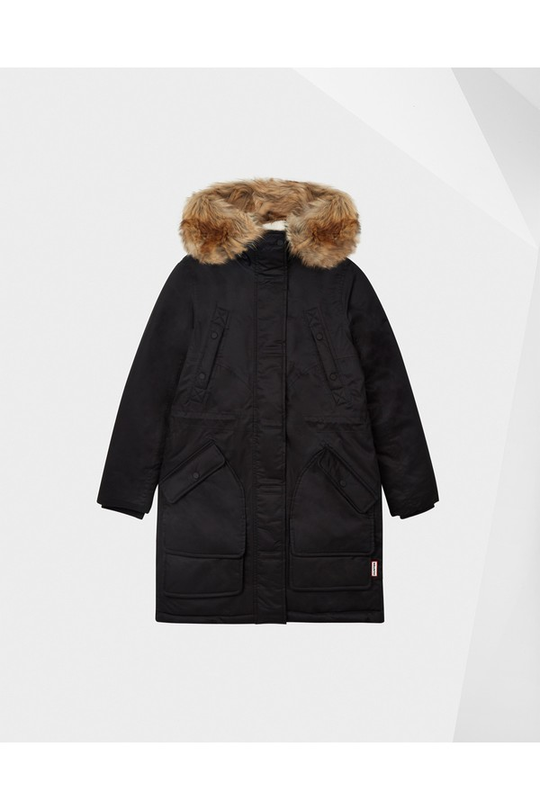 2ef59b3f62bd0 Women's Original Insulated Parka Jacket by Hunter at ORCHARD MILE