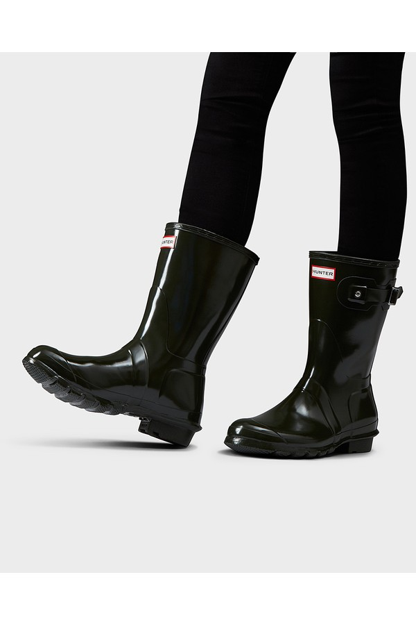 a41d26aa9 Women's Original Short Gloss Rain Boots by Hunter at ORCHARD MILE