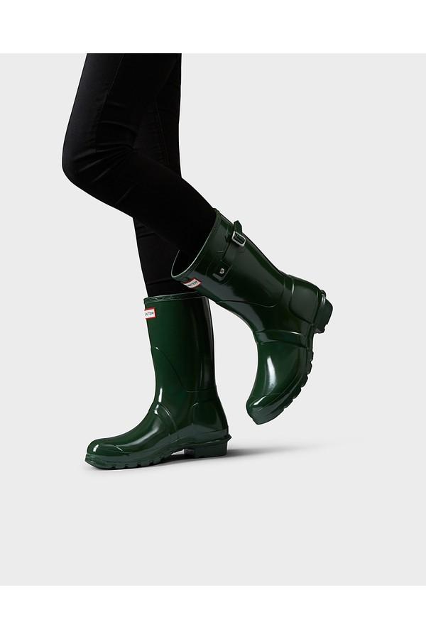 Women s Original Short Gloss Rain Boots by Hunter at ORCHARD MILE e448d33b33b2