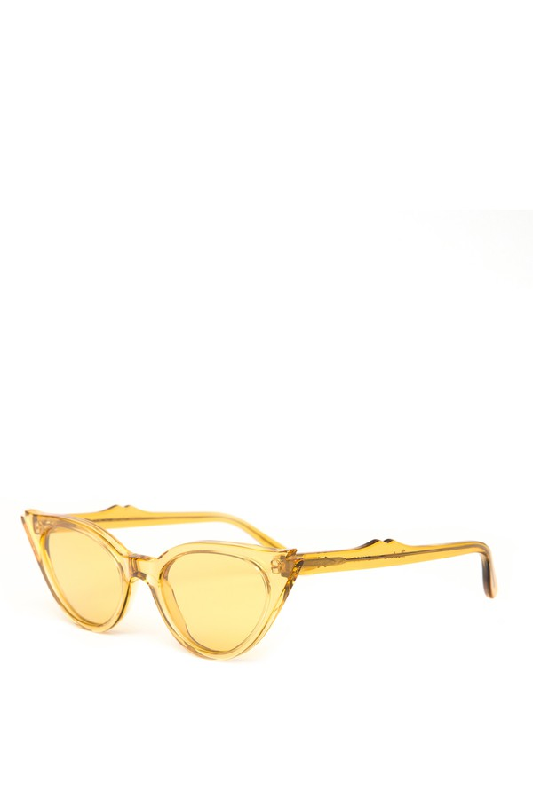 15c8d46436 Isabella Yellow Cateye Sunglasses by Illesteva at ORCHARD MILE