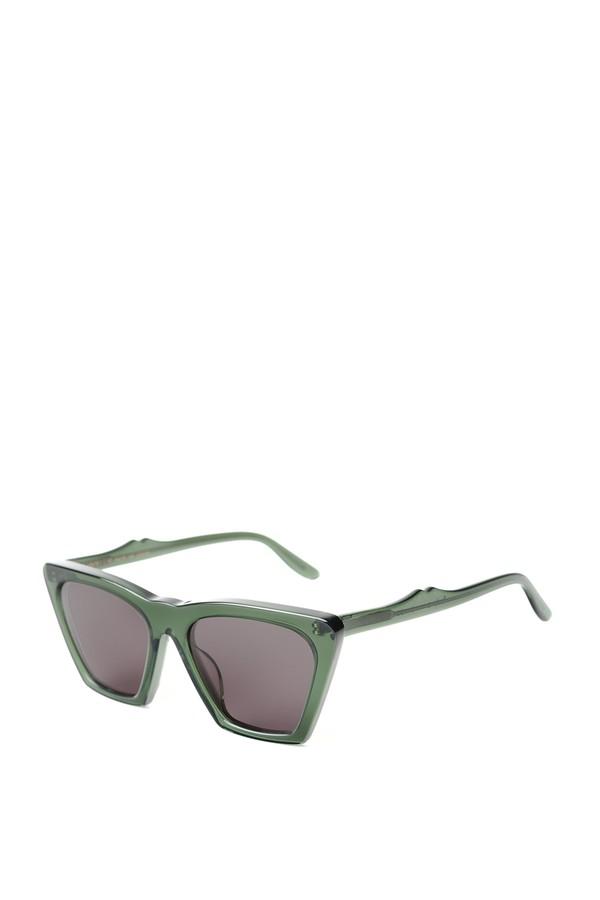 bbc2f84fe5 Lisbon Green Sunglasses by Illesteva at ORCHARD MILE