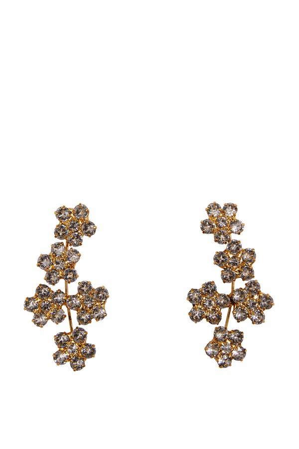 Jennifer Behr Clio Small Flower Earrings cCFZg