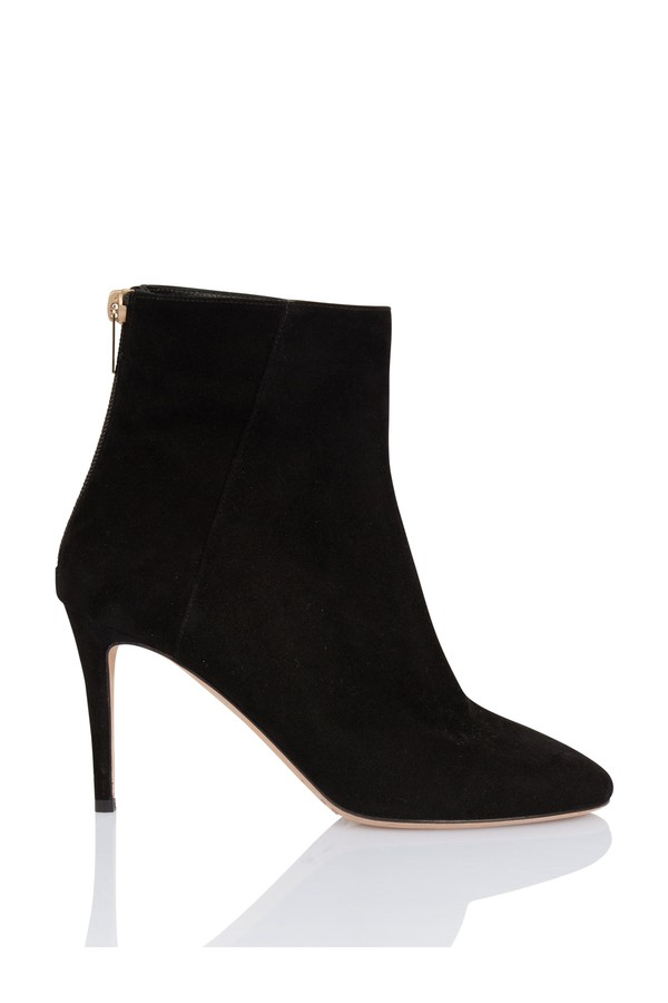 5668d7a4f2b Duke Black Suede Ankle Boot by Jimmy Choo at ORCHARD MILE
