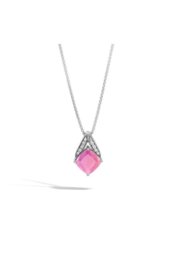 John Hardy Magic Cut Pendant Necklace With Labradorite vKnUm7m