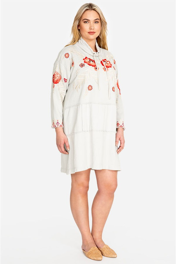 b455836403f Maya Sweatshirt Tunic Dress-Plus Size by Johnny Was at ORCHARD MILE