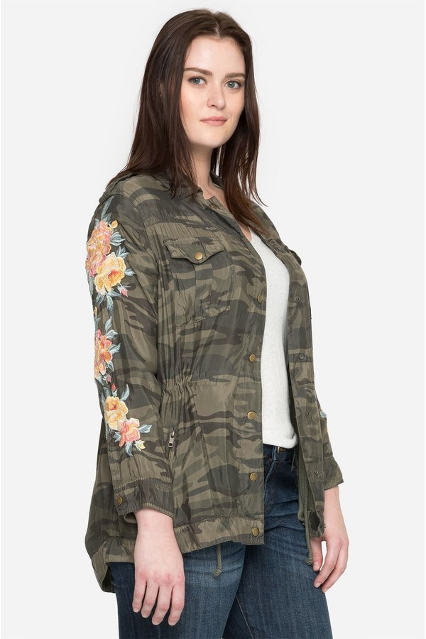 41f2e9f0052 Brenna Military Coat - Plus Size by Johnny Was at ORCHARD MILE