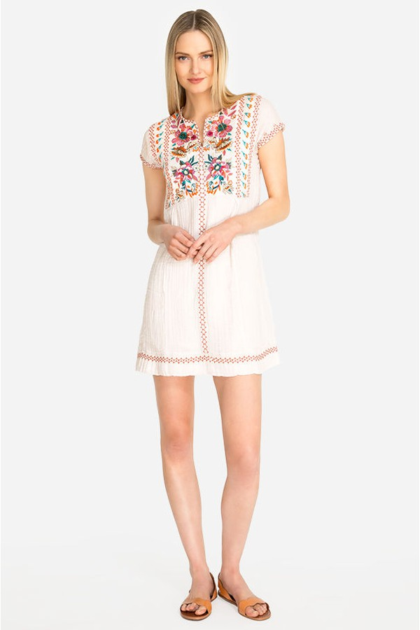 3b2ce6820 Nena Poncho Tunic Dress by Johnny Was at ORCHARD MILE