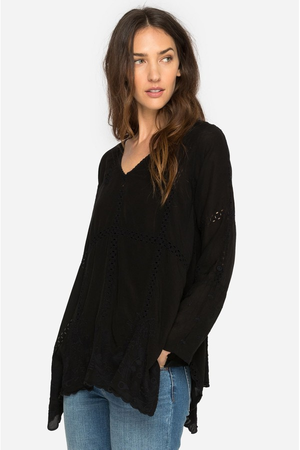 1e7d338b0260df Cage Flare Tunic by Johnny Was at ORCHARD MILE