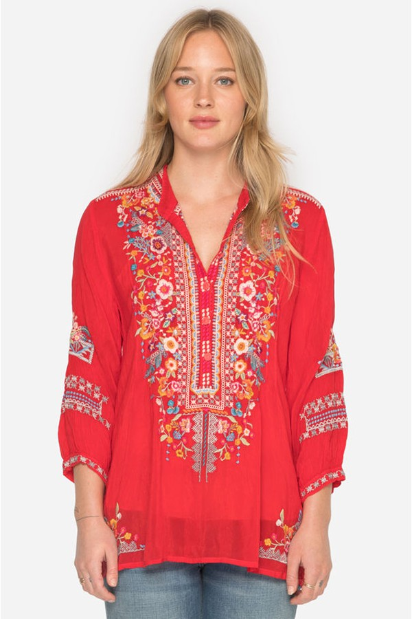 Bethanie Tunic Plus Size By Johnny Was At Orchard Mile