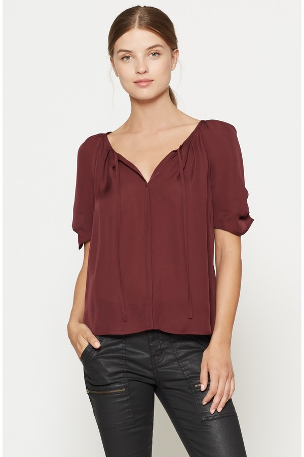 949207ba2b350 Berkeley Silk Blouse by Joie at ORCHARD MILE