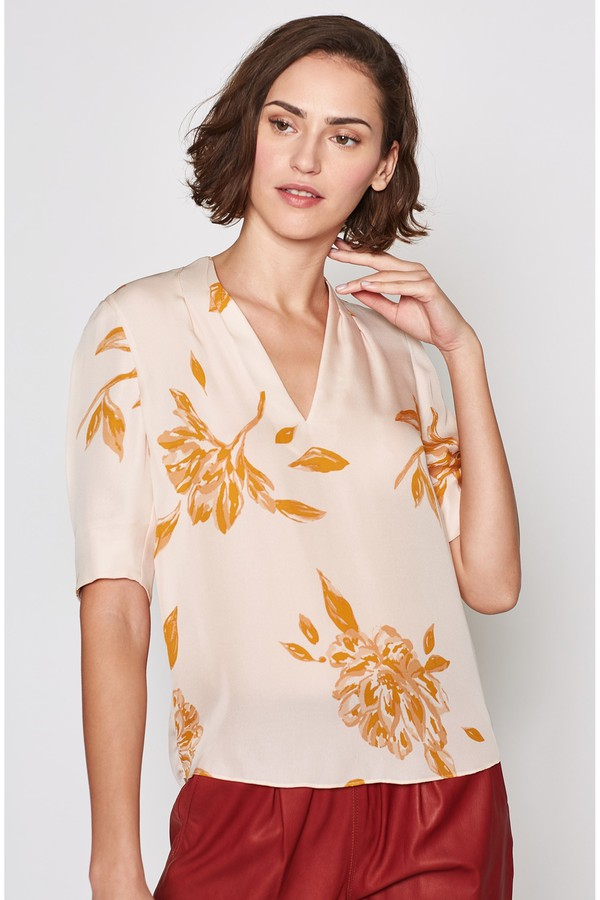 604e6db5b77f7 Ance Silk Top by Joie at ORCHARD MILE