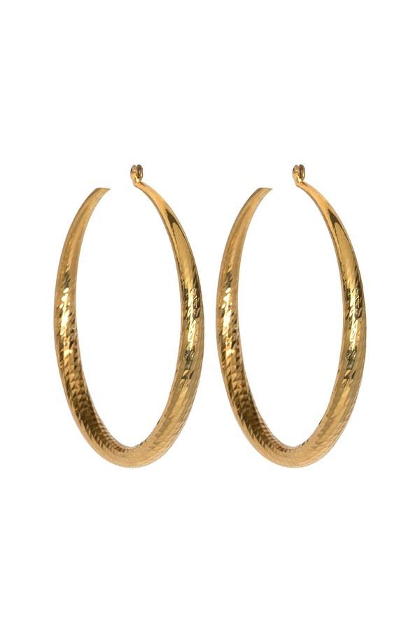 Kenneth Jay Lane Aqua Pave Large Hoop Clip Earrings Peridot y3aK4cGwk