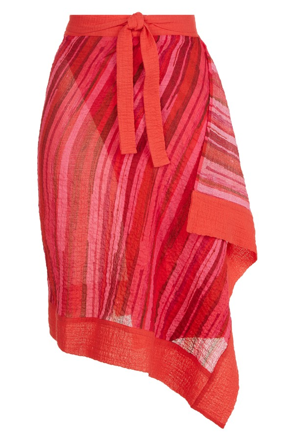 43cea16ab4b8e Double Visions Cotton Sarong by La Perla at ORCHARD MILE