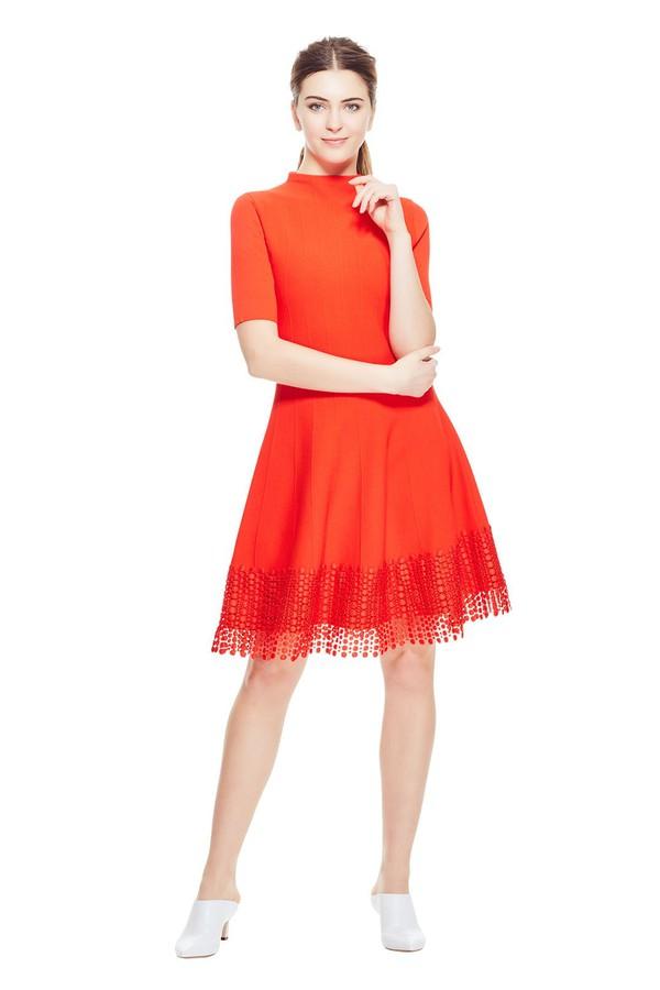 fb4f9a507a4 Ottoman Lace Hem Knit Dress by Lela Rose at ORCHARD MILE