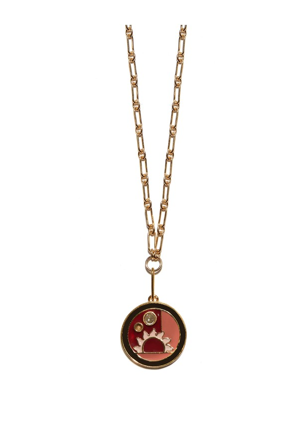 bbd098b6e2a Fortune Warm Sunrise Necklace by Lizzie Fortunato at ORCHARD MILE