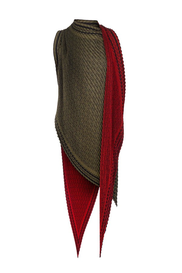 Fast Express anagram scarf top - Red Loewe Clearance Exclusive Cheap Fashionable OEW42l