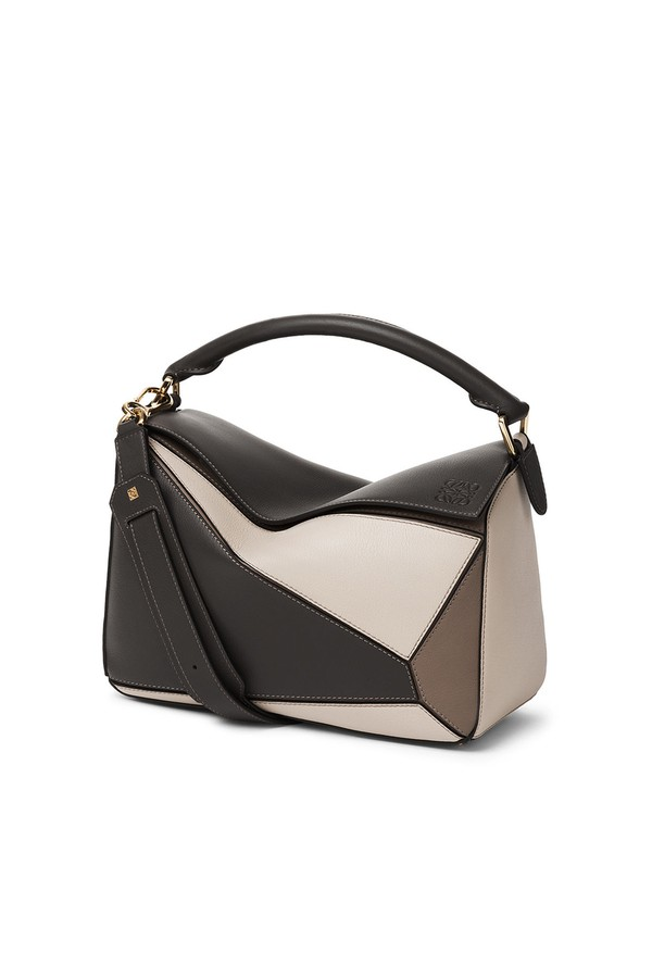 7f0dfdb537 Puzzle Bag Dark Taupe Multitone by LOEWE at ORCHARD MILE