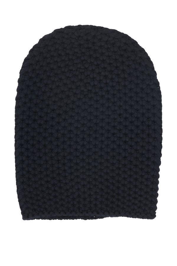 8f60fb6eafe Navy Cashmere Beanie by Loro Piana at ORCHARD MILE