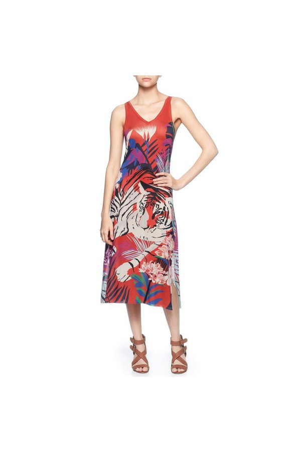 9246363d623 Sleeveless Midi Dress by Magaschoni at ORCHARD MILE