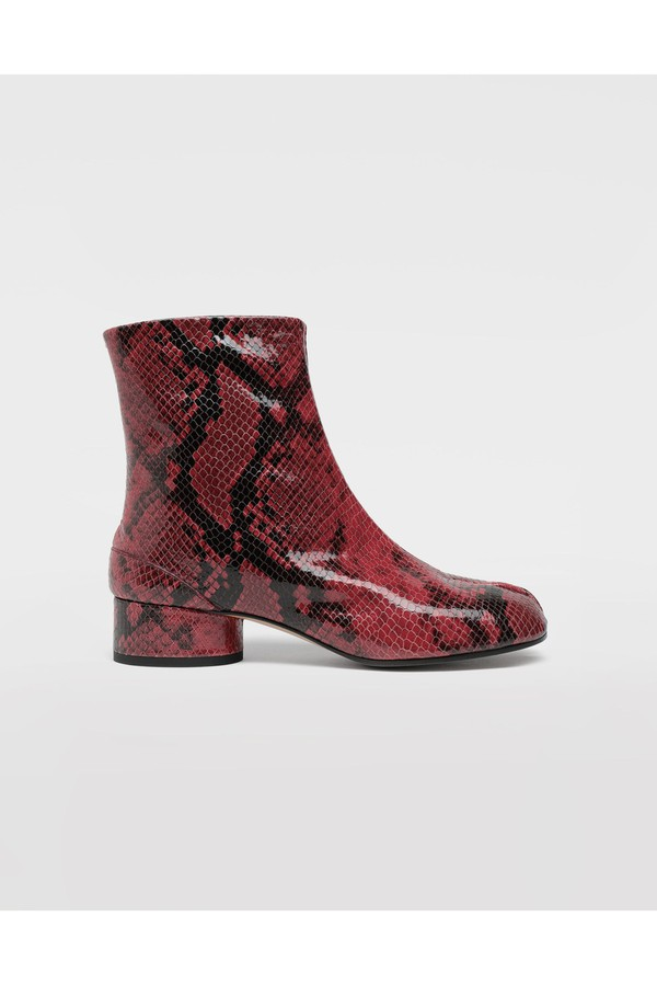 ac8b6d2f0a0 Tabi Python-Effect Calfskin Boots