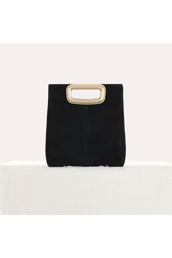 3d300fb42de0 M Skin Bag In Suede by Maje at ORCHARD MILE