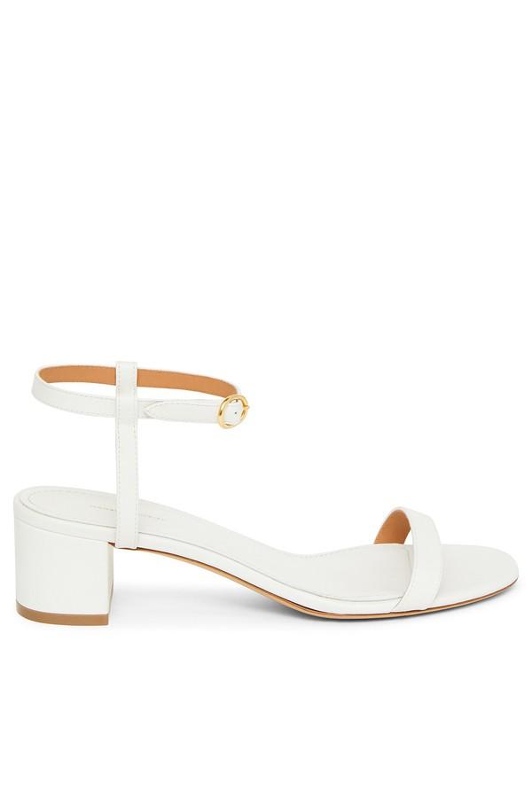 cbd1e67fe0a Lamb Ankle Strap Sandal - White by Mansur Gavriel