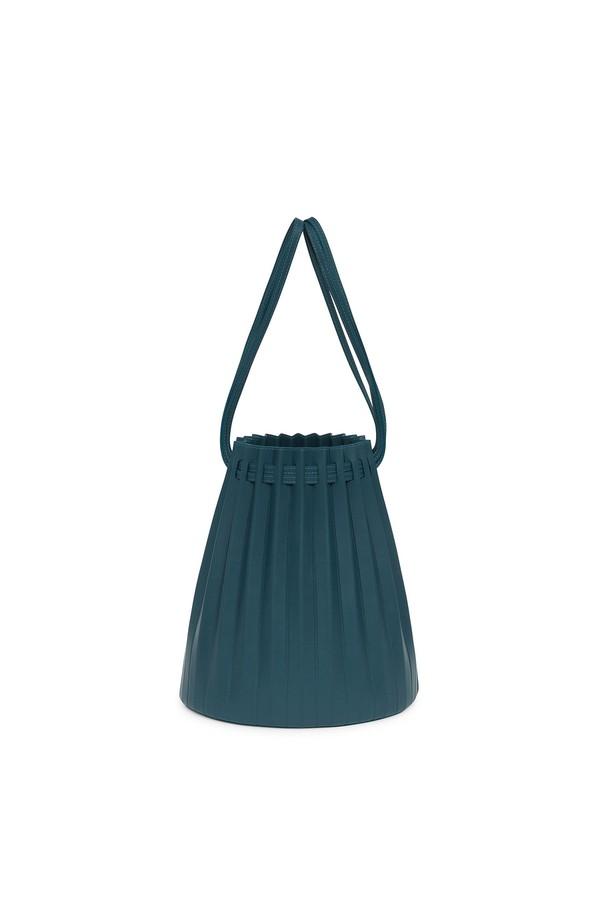 d4b0b05b2 Lamb Pleated Bucket Bag - Midnight Blue by Mansur Gavriel at...