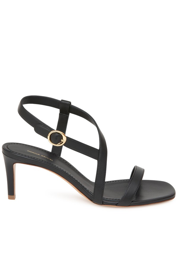 a6839c6879 Lamb Fino Crossover Sandal - Black by Mansur Gavriel at ORCHARD MILE