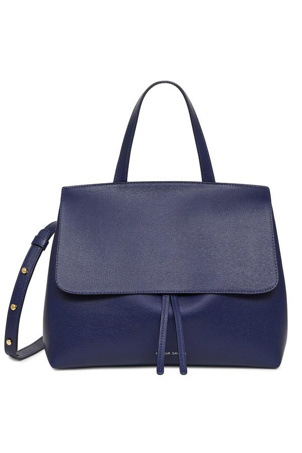 Saffiano Mini Lady Bag Blu