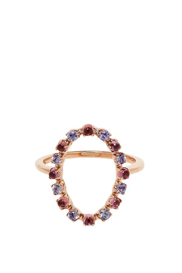 Marlo Laz Full Circle 14K Gold Ring urBdv