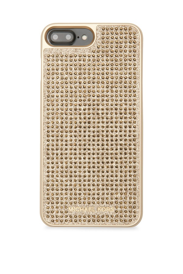 pave crystal iphone 7 plus case by michael kors collection. Black Bedroom Furniture Sets. Home Design Ideas