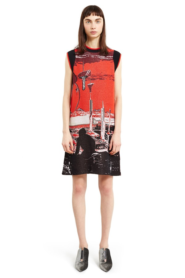 Opening Ceremony Syd Mead Jacquard Dress