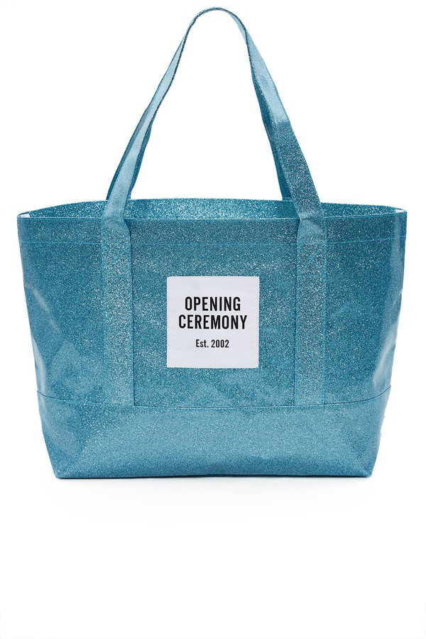 Glitter Tote Bag by Opening Ceremony at ORCHARD MILE c30d5b4029890