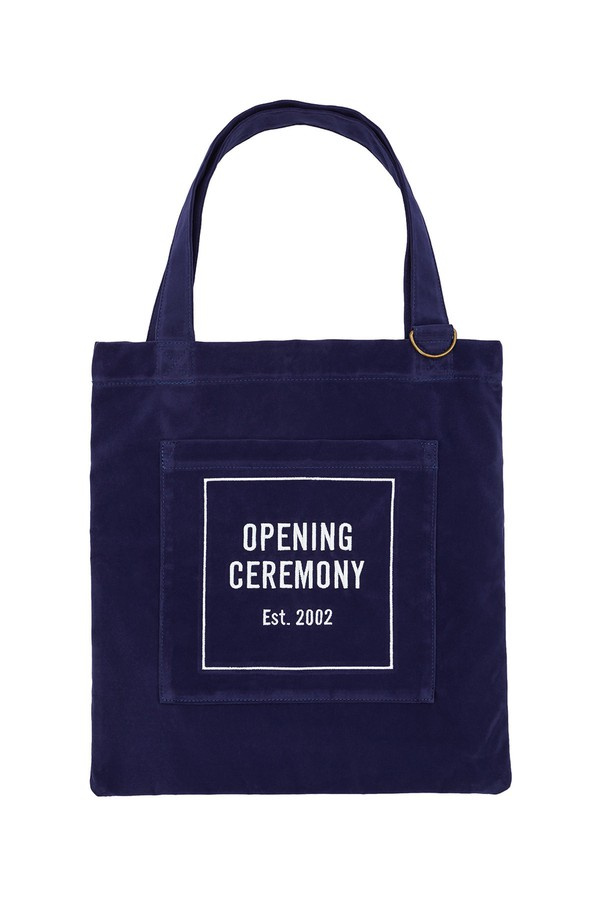 Microsuede Tote Bag by Opening Ceremony at ORCHARD MILE 42d15ee14cb05