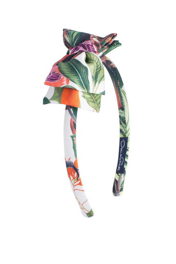 Oscar De La Renta Kids Flower Jungle Mikado Bow Headband qzSv0Y