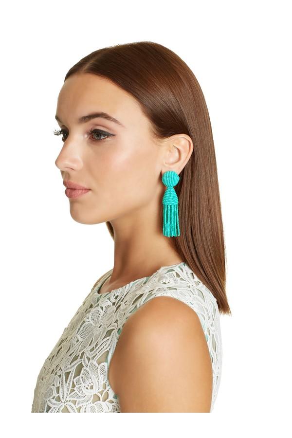 Tassel earrings Oscar De La Renta fDKlR6