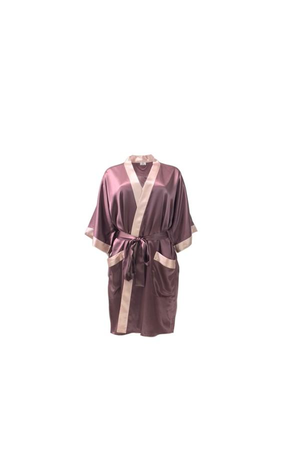 47545a8bb342 Manito Silk Short Silk Kimono Robe by OuiHours at ORCHARD MILE
