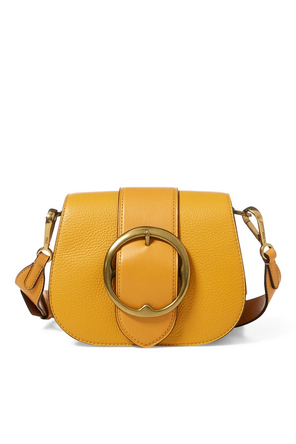 3a99279a3b Pebbled Leather Lennox Bag by Polo Ralph Lauren at ORCHARD MILE