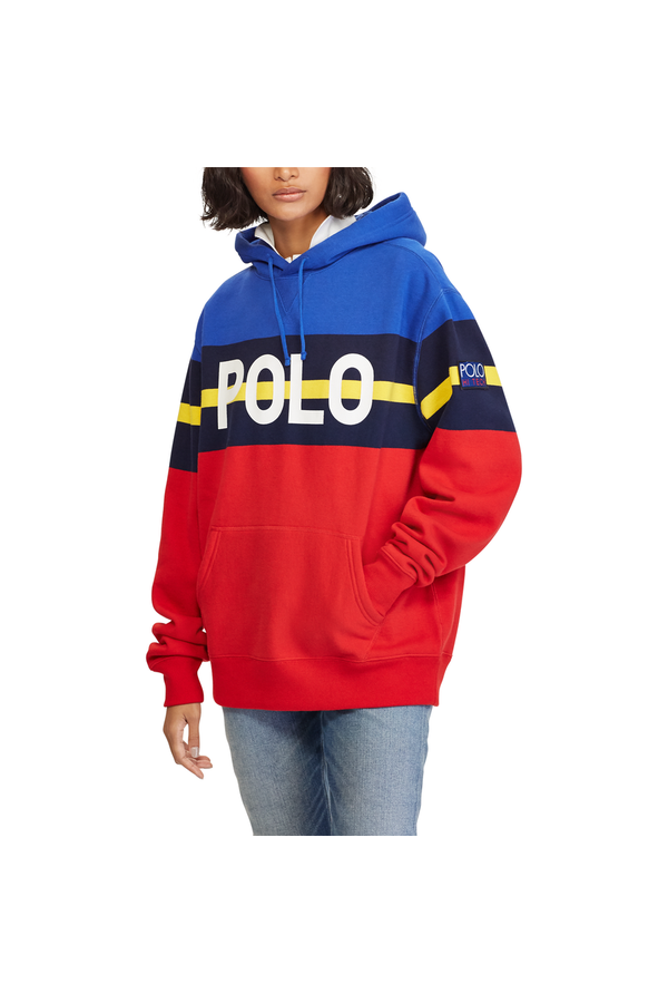 ce036c101 Striped Fleece Hoodie Pullover by Polo Ralph Lauren at ORCHARD MILE