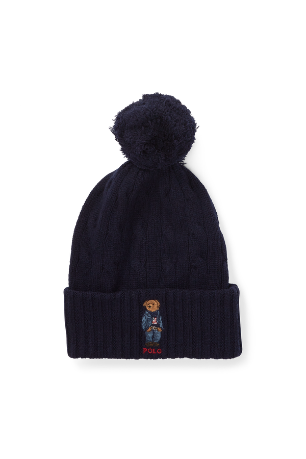 6c6dcfd064a6f Polo Bear Pom-Pom Hat by Polo Ralph Lauren at ORCHARD MILE