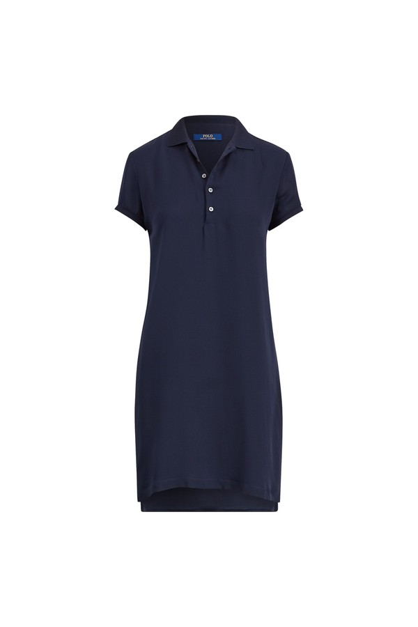 b1c08c0a672295 Silk Georgette Polo Dress by Polo Ralph Lauren at ORCHARD MILE