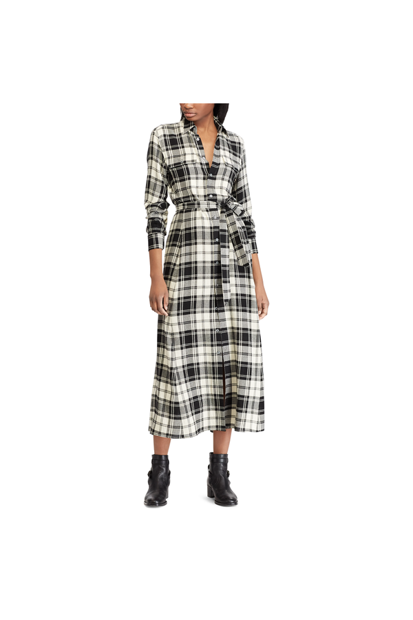 e2c374dfab3 Plaid Twill Shirtdress by Polo Ralph Lauren at ORCHARD MILE