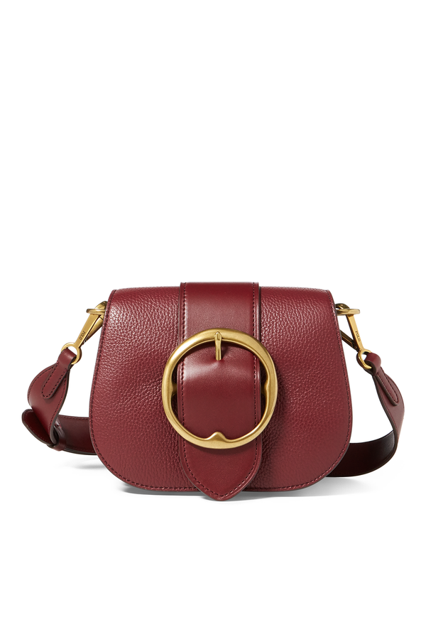 Pebbled Leather Lennox Bag by Polo Ralph Lauren at ORCHARD MILE 99f95282cb6f0