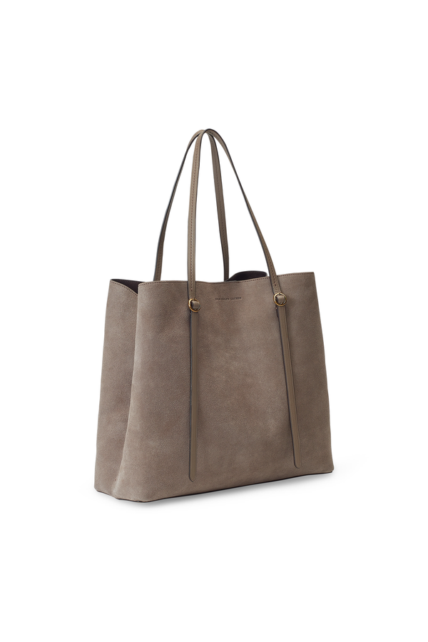 0d9390b904 Suede Lennox Tote by Polo Ralph Lauren at ORCHARD MILE
