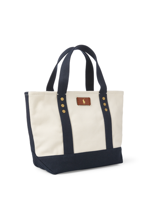 517034464f73 Canvas Mini Tote Bag by Polo Ralph Lauren at ORCHARD MILE