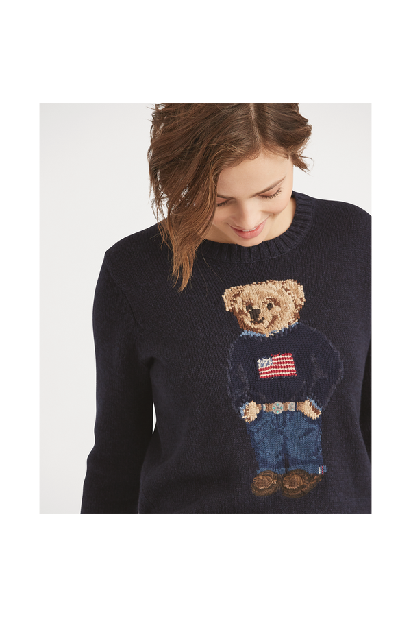 1c7a56c60cc3 Polo Bear Cotton-Linen Sweater by Polo Ralph Lauren at ORCHARD MILE
