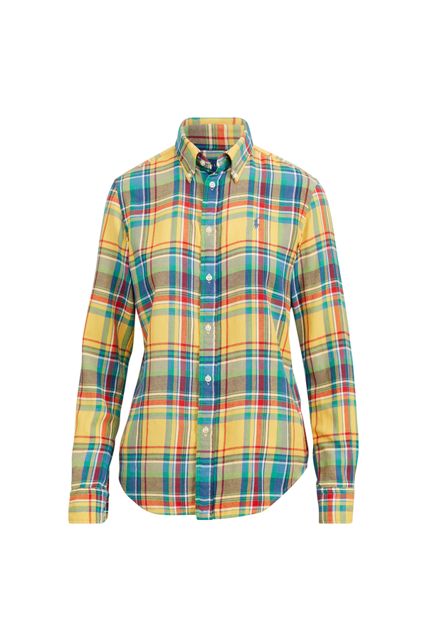 ce02fabac Classic Fit Plaid Twill Shirt by Polo Ralph Lauren at ORCHARD MILE