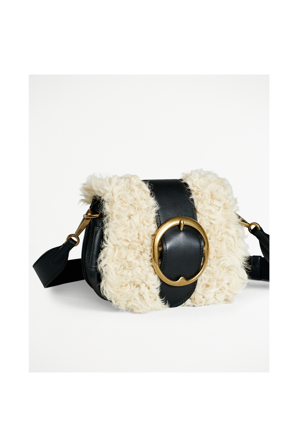 3ad2a6e17c9 Shearling Lennox Bag by Polo Ralph Lauren at ORCHARD MILE